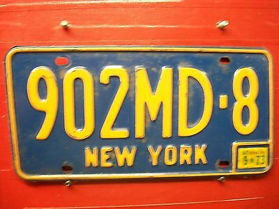 New York = 1973 = Doctor Plate  =656