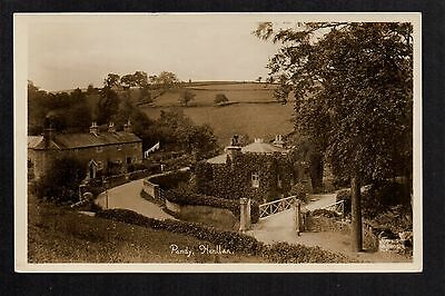 Pandy, Henllan - real photographic postcard