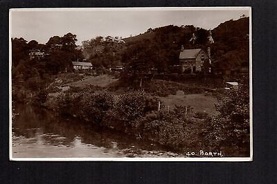 Borth -  real photographic postcard