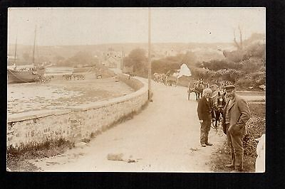 Llandudoch , St. Dogmeals - real photographic postcard