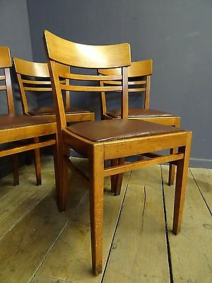 Vintage Chairs, Mid Century, Cafe