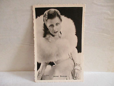 IRENE DUNNE CPA cpsm cp postcard PHOTO RKO 1950S cinéma movie actrice