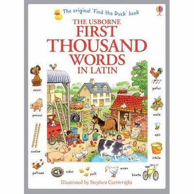First Thousand Words in Latin - Paperback NEW Heather Amery(A 2014-07-01