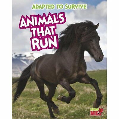 Animals That Run (Adapted to Survive) - Paperback NEW Angela Royston  2014-01