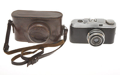 Fototecnica Herman with Koristka 50/3.5 Leica copy Made in Italy c.1948, exc++