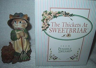 The Thickets At Sweetbriar Autumn Peppergrass Possible Dreams W/box  Cat 1996