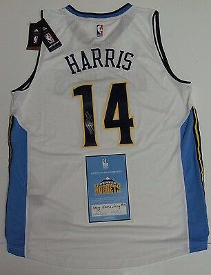 Gary Harris Jr Autographed Signed Denver Nuggets Nba Basketball Jersey With Coa