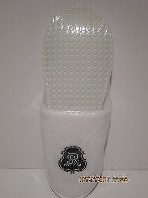 Saint Regis Hotel Terry Unisex Slippers, Sealed In Package Free Ship Brand New!