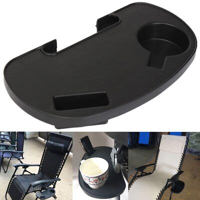 Cup Holder For Zero Gravity Lounge Chair Lawn Patio Pool Beach Table Side Tray