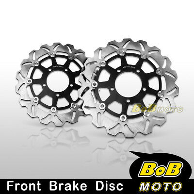Kawasaki GTR 1400 2007-2010 2011 Front Stainless Steel Brake Disc Rotor Pair