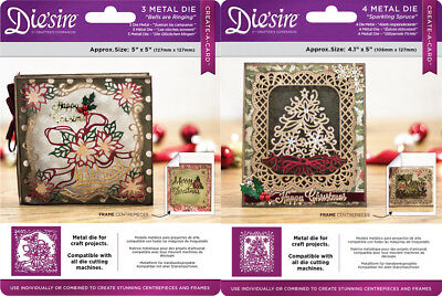 *NEW 2017* DIE'SIRE Create A Card CHRISTMAS ELEMENTS Dies  by Crafters Companion