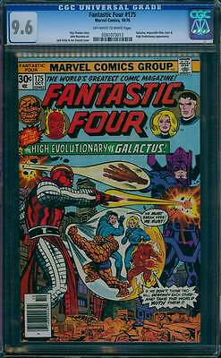Fantastic Four # 175  The High Evolutionary vs Galactus !  CGC 9.6 scarce book !