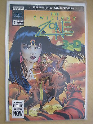 The TWILIGHT ZONE : 3D SPECIAL EDITION, WITH 3 D GLASSES ENCL. NOW COMICS. 1992