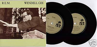 "[Berry/ Buck/ Mills/ Stipe] R.e.m. ~ Wendell Gee ~ 1985 Uk 7"" Double Pack + P/s"