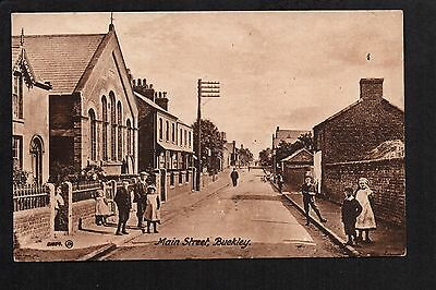 Buckley - Main Street - printed postcard