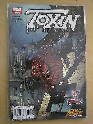 TOXIN ISSUE 3, by MILLIGAN, RAMOS etc. SPIDERMAN. Carnage. Avengers. Marvel.2005