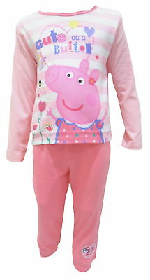 "Peppa Pig ""Cute as a Button"" Girls Pyjamas"