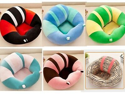 Cotton Baby Support Seat Soft Chair Car Cushion Sofa Plush Pillow Toys New UK