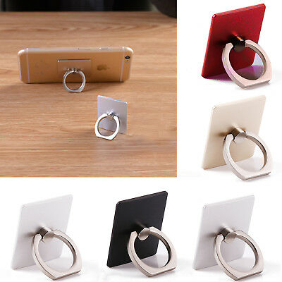 Fashion Finger Grip Rotating Ring Stand Holder For Mobile Phones iPhones iPads