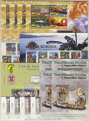 Papua New Guinea - 2008 - 2011 Kleines Lot ** Small Lot M/Nh Michel: 130,00
