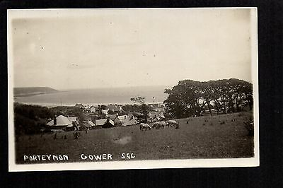 Porteynon, Gower - real photographic postcard