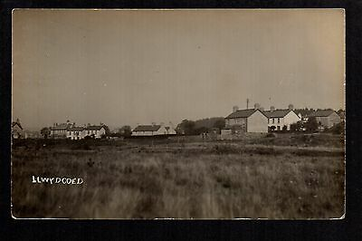 Llwydcoed - real photographic postcard