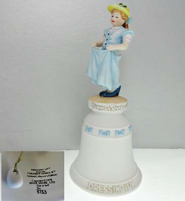 Norman Rockwell Dressing Up Limited Edition Collector Bell