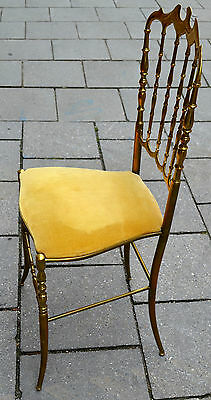 Chiavari Chair, Stuhl,Messing ,1950-59, Design Vintage