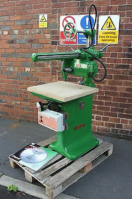 Wadkin LB52/30 3 Phase DC Braked 350mm Radial Arm Saw Refurbished Free Delivery