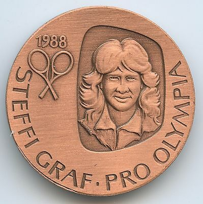 GY677 - Medaille Seoul 1988 Tennis - Olympische Spiele Steffi Graf - Pro Olympia