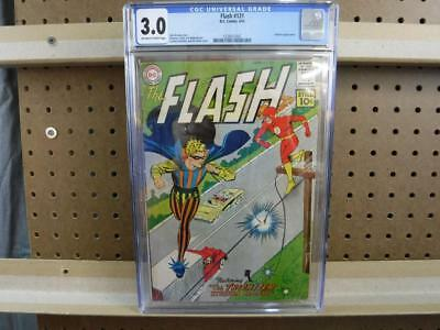CGC 3.0 Flash 121 6/61 June 1961 Trickster Appearance