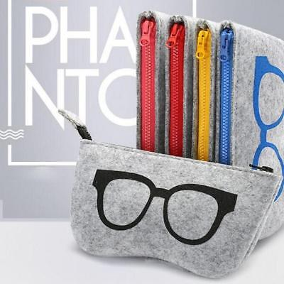 Reading Glasses Sunglasses Carry Case Zipper Travel Box Pouch BS