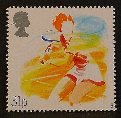 'Tennis' illustrated on 1988 Stamp - Unmounted Mint
