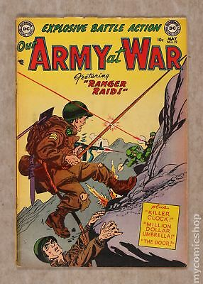 Our Army at War (1952) #22 GD+ 2.5
