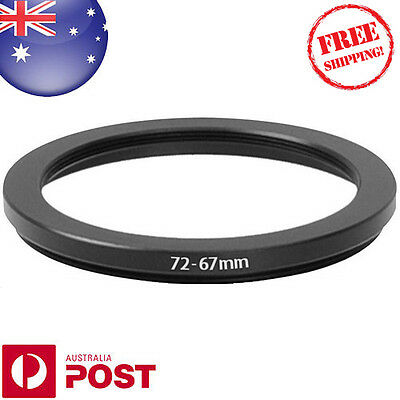 New 72-67mm 72mm - 67mm Metal Step Down Lens Filter Ring Adapter - Z384F