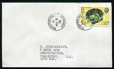 DOMINICA: (10378) WOODFORD HILL cancel/cover