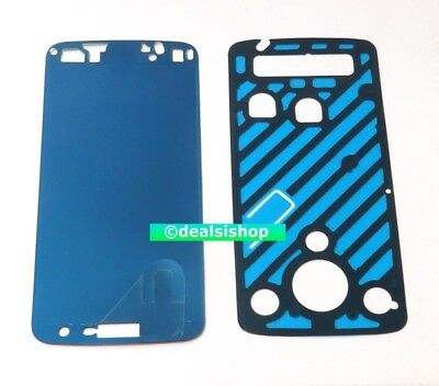 Pre-Customized Adhesive for Motorola Moto Z Play Droid XT1635 Battery Door Frame