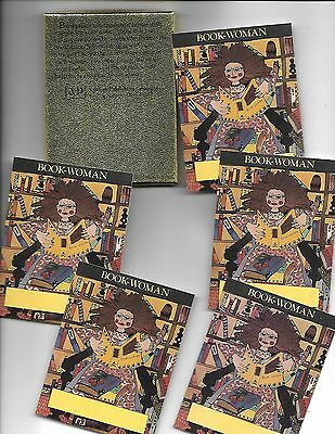 Antioch Publishing USA 23 Bookplates Entitled Book-Woman -- In Box