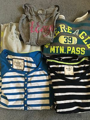 5 Pc Lot American Eagle Abercrombie Medium Large Tops