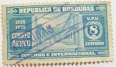 Honduras    8 Cents Used  Stamp .....worldwide Stamps