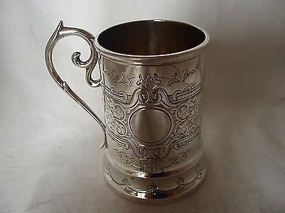Christening Tankard Scottish Sterling Silver Edinburgh 1867