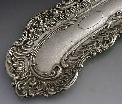 Beautiful Art Nouveau English Sterling Silver Tray / Dish 1903 Antique