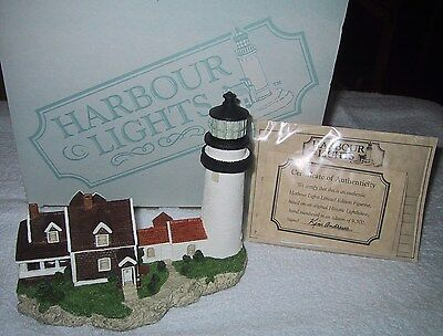 Harbour Lights Lighthouse - HIGHLAND CAPE COD LIGHT MASS #161  MIB COA 1995
