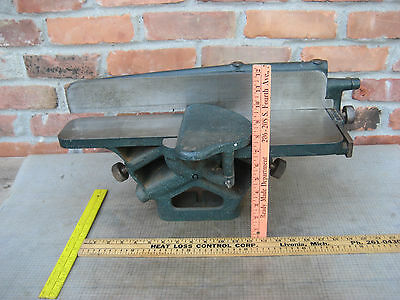 VINTAGE 1920-30'S YATES-AMERICAN MACHINE CO 4'' JOINTER Wood Working Old Tool