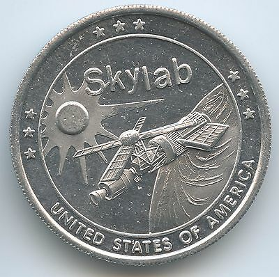 M569 - Medaille Skylab Raumstation 1973-1974 United States of America