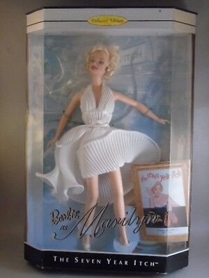 Marilyn Monroe Barbie Doll The Seven Year Itch Hollywood Legends Collection