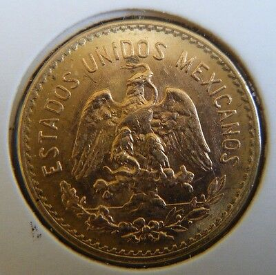1955 Mexico 5 Cinco Pesos Gold Coin