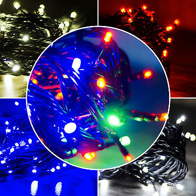 80/120/240 LED String Fairy Lights Xmas Christmas Tree Party Lamp Decorations