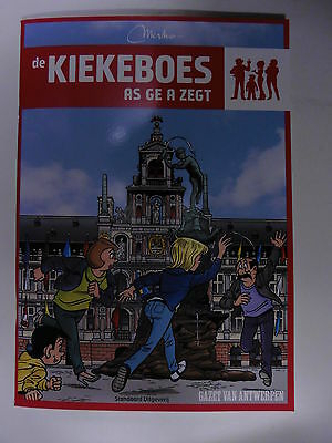 Kiekeboe 145 in Antwerps dialect Maart  2016