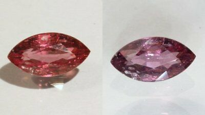 Color Change Garnet Red Purple Faceted Marquise Natural African Gem 1.43 Carat
